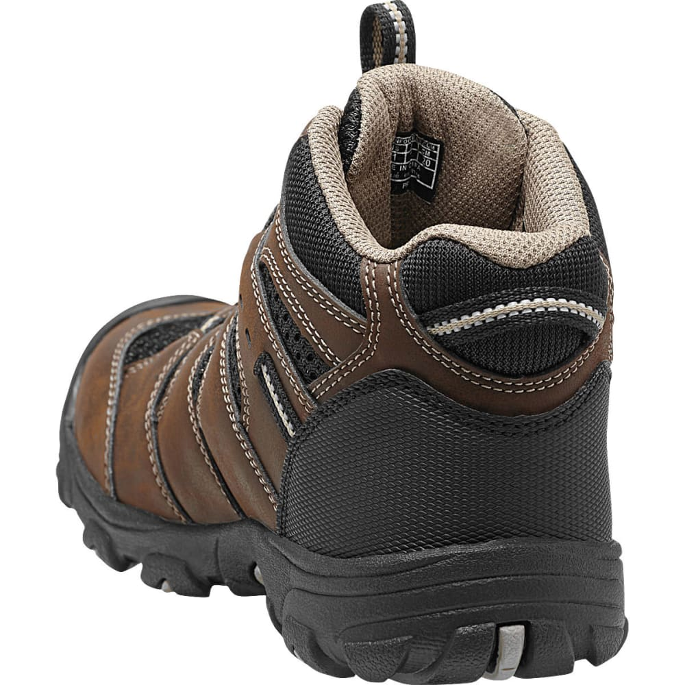 KEEN Kids' Koven Mid Waterproof Hiking Boots - CASCADE BROWN