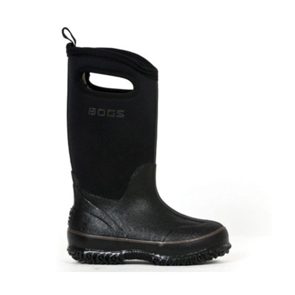 BOGS Kids' Classic High Handles Boots - BLACK