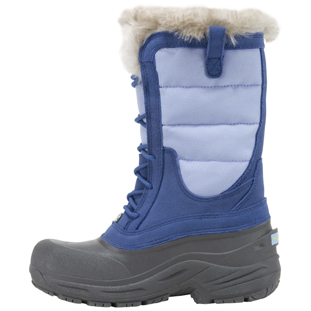 THE NORTH FACE Girls' Shellista Lace Winter Boots, Blue - ROYAL BLUE
