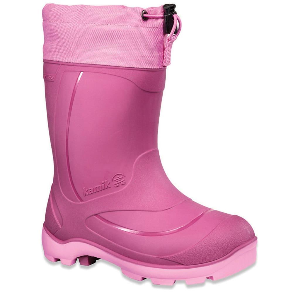 KAMIK Kids' Snobuster1 Winter Boots, Berry - FUSHCIA PINK HEATHER