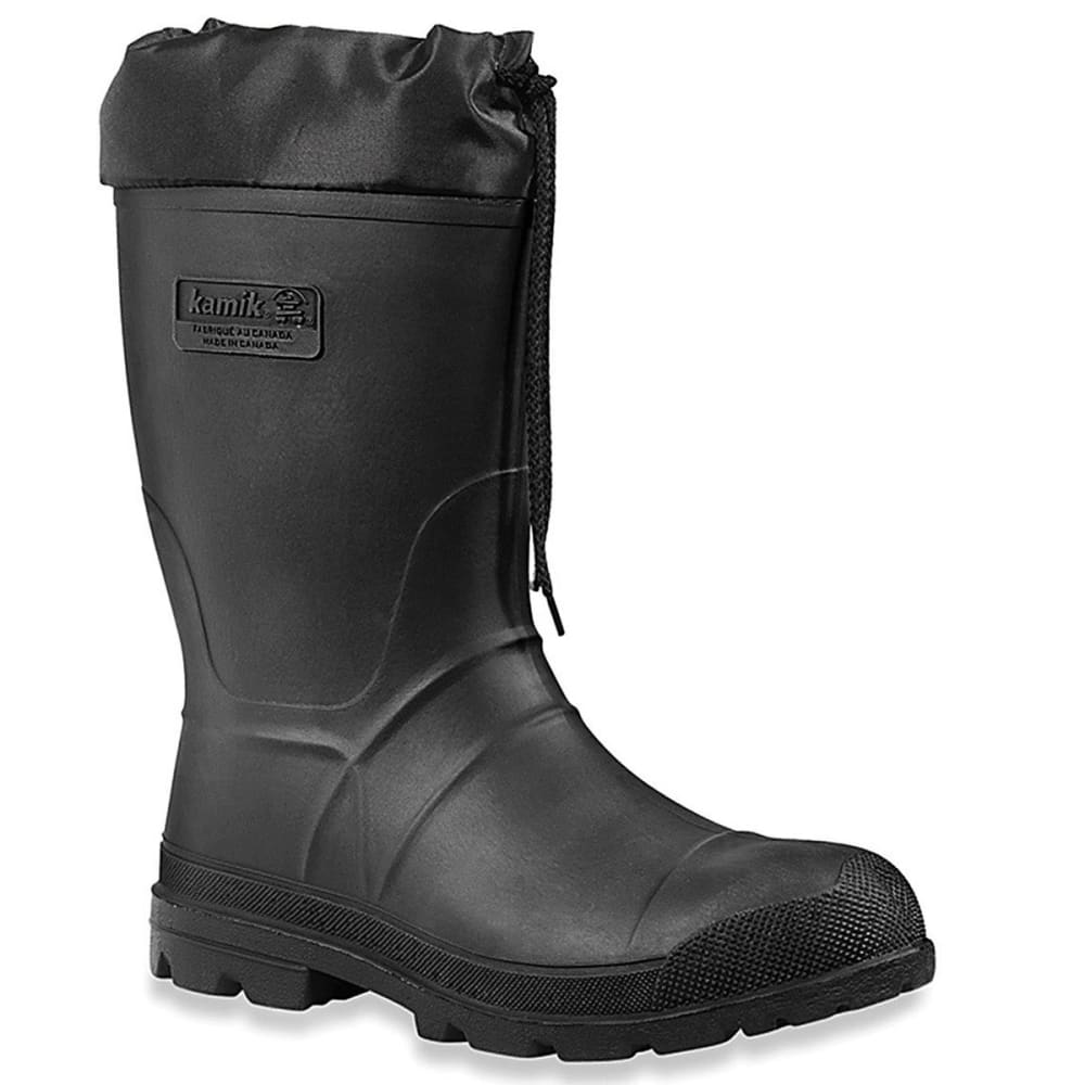 KAMIK Kids' Hunter Waterproof Winter Boots, Black - BLACK