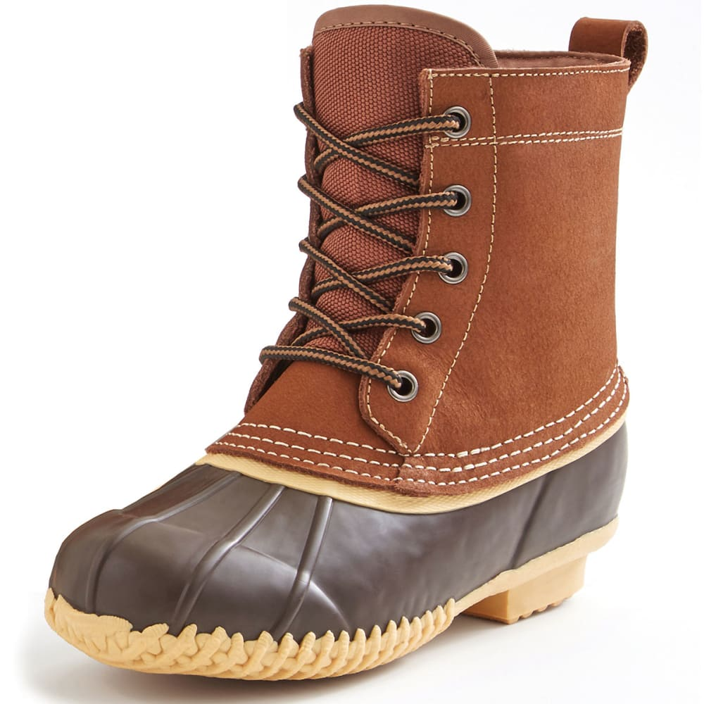 DAKOTA GRIZZLY Kids' Cannon Mountain Duck Boots - TAN BRWN
