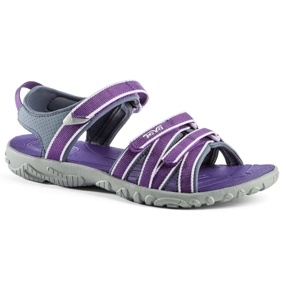TEVA Girls' Tirra Sandals, Purple - PURPLE