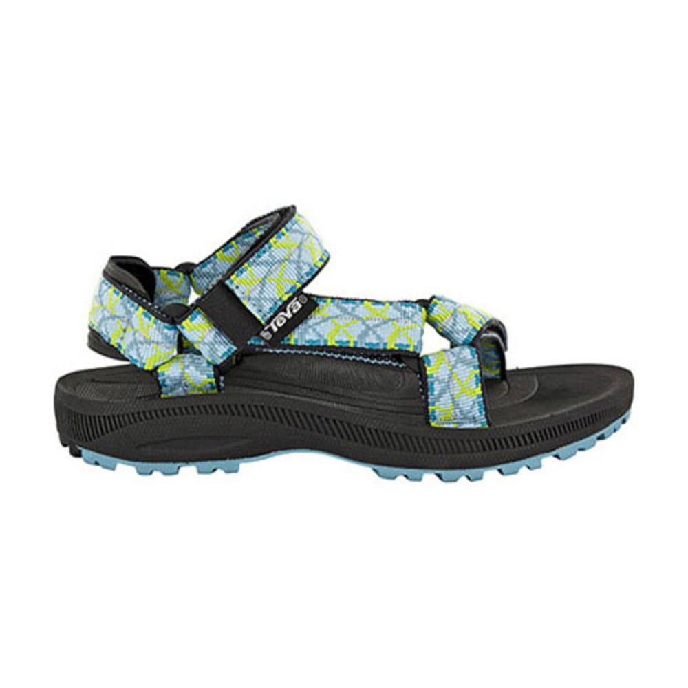 TEVA Kids' Hurricane 2 Sandals, Tie Dye Blue - TIE DYE BLUE