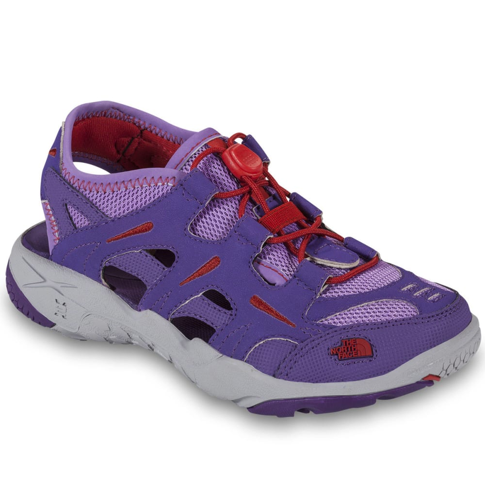 THE NORTH FACE Girls' Hedgefrog Sandals, Pixie Purple - PIXIE PURPLE