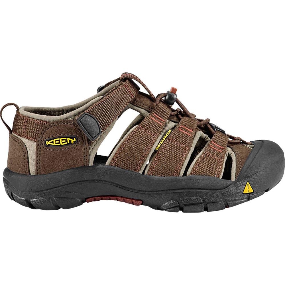 KEEN Kids' Newport H2 Sandals, Slate Black - SLATE BLACK