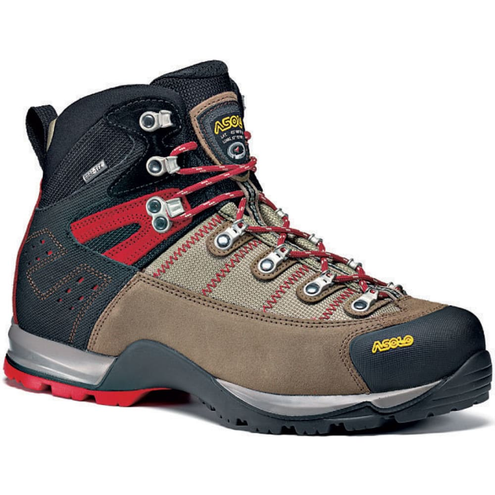 ASOLO Men's Fugitive GTX Hiking Boots - WOOL/BLACK