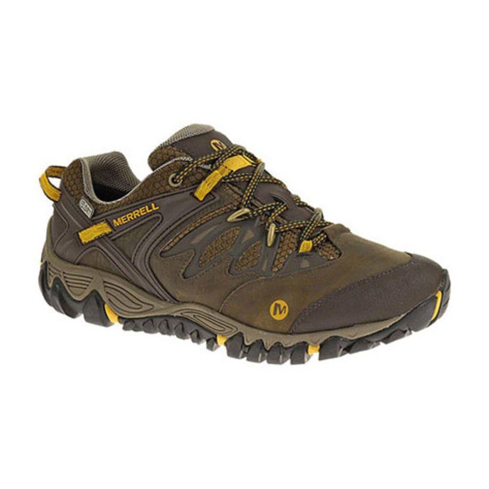 merrell all out blaze waterproof hiking shoes black slate