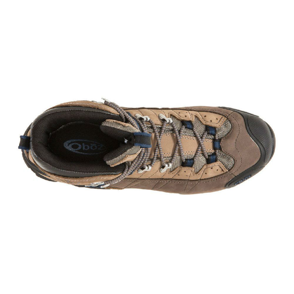 OBOZ Men's Wind River II WP Backpacking Boots - BRINDLE