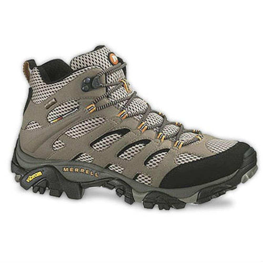 7ddbf8b292a MERRELL Men's Moab Mid GTX Hiking Boots, Dark Tan