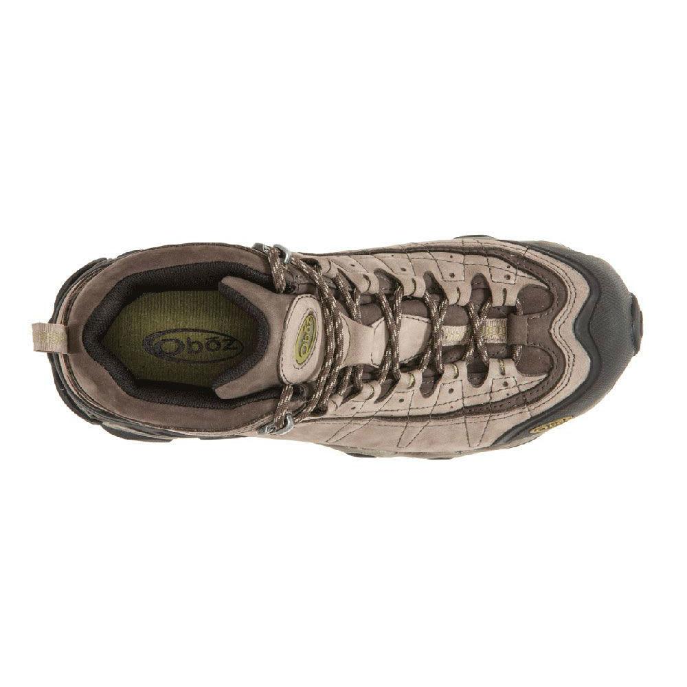 OBOZ Men's Yellowstone II BDry Hiking Boots - SMOKE