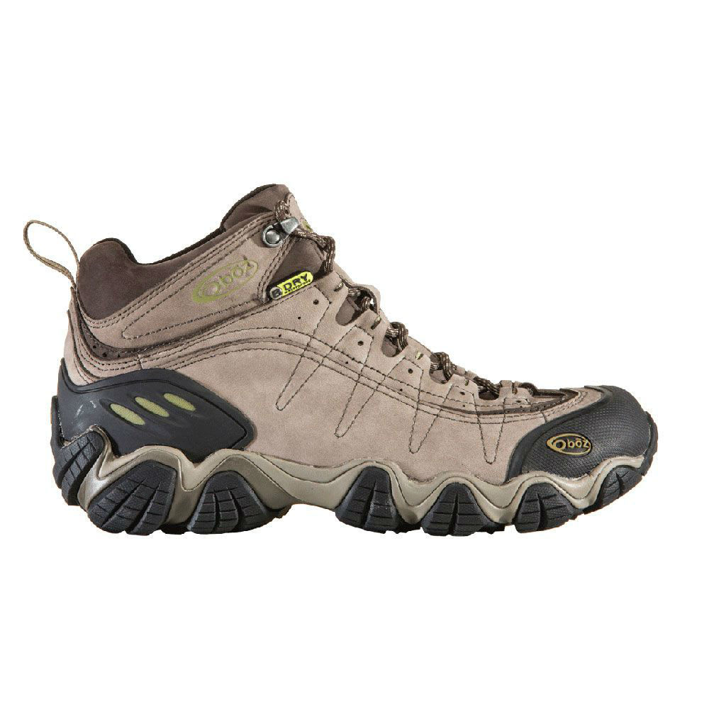 OBOZ Men's Yellowstone II BDry Hiking Boots - SMOKE