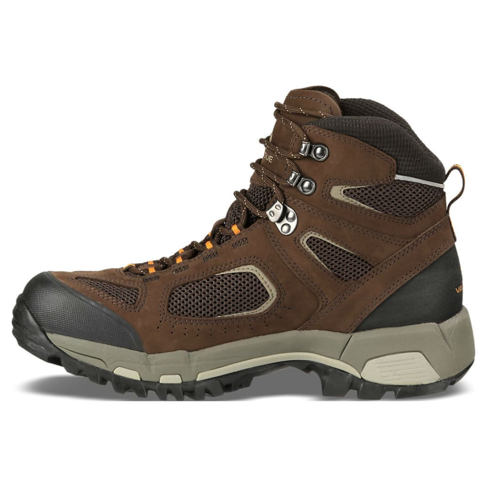 VASQUE Men's Breeze 2.0 GTX Hiking Boots, Wide - SLATE BROWN/ORANGE