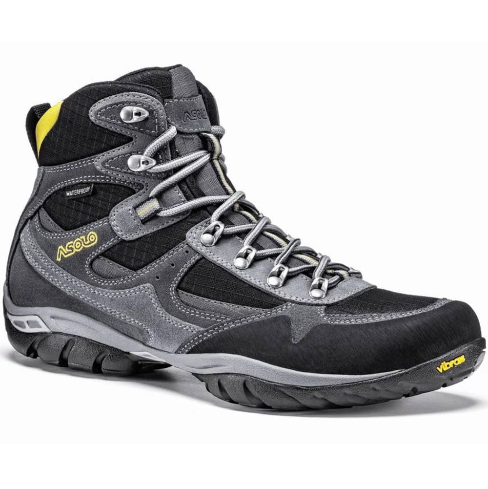 ASOLO Men's Reston Waterproof Hiking Boots, Graphite/Black - GRAPHITE/BLACK