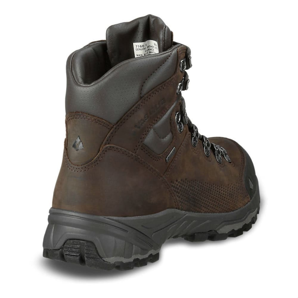 VASQUE Men's St. Elias GTX Backpacking Boots, Wide - SLATE BROWN