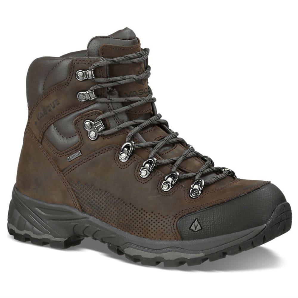 VASQUE Men's St. Elias GTX Backpacking Boots, Wide - SLATE BROWN
