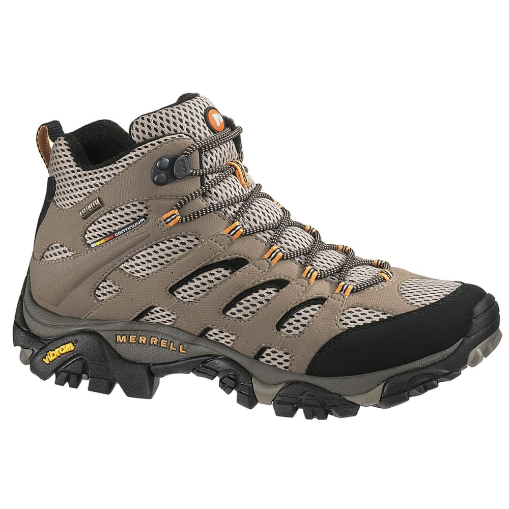 merrell s moab mid gtx hiking boots wide