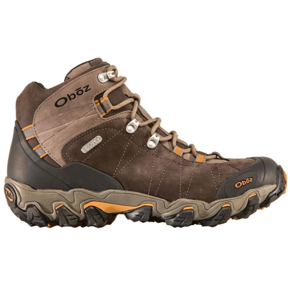 OBOZ Men's Bridger BDry Hiking Boots, Wide - SUDAN BROWN