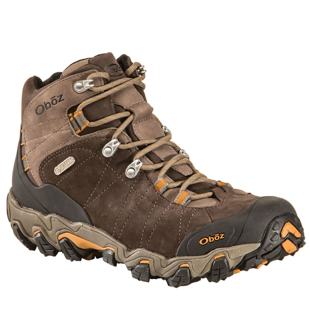 Oboz Men's Bridger Bdry Hiking Boots, Wide - Brown - Size 10