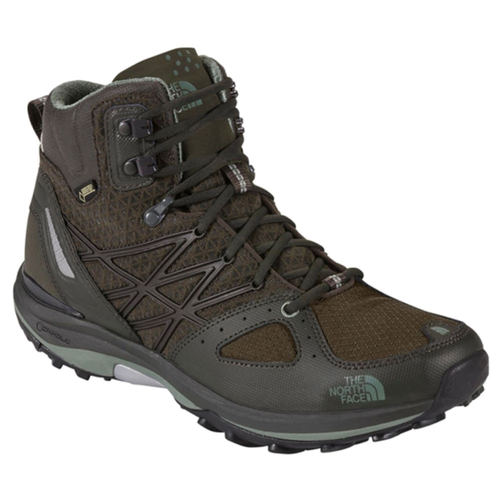 5bde5e453f6 THE NORTH FACE Men's Ultra Fastpack Mid GTX Hiking Boots, Black