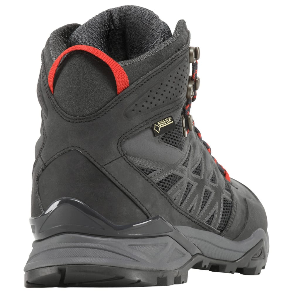 THE NORTH FACE Men's Hedgehog Hike Mid GTX Hiking Boots, Dark Shadow Grey - DARK SHADOW