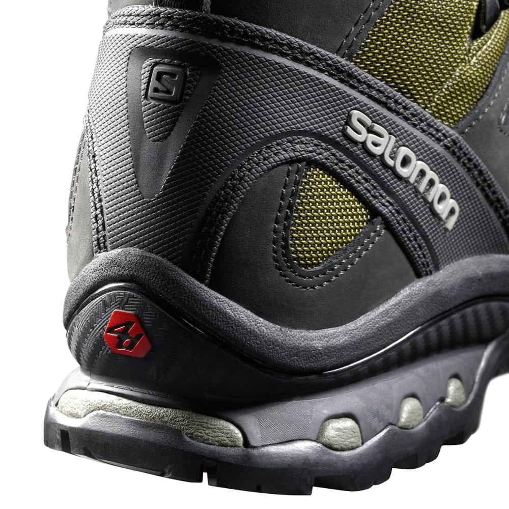 SALOMON Men's Quest 4D 2 GTX Backpacking Boots - IGUANA GREEN