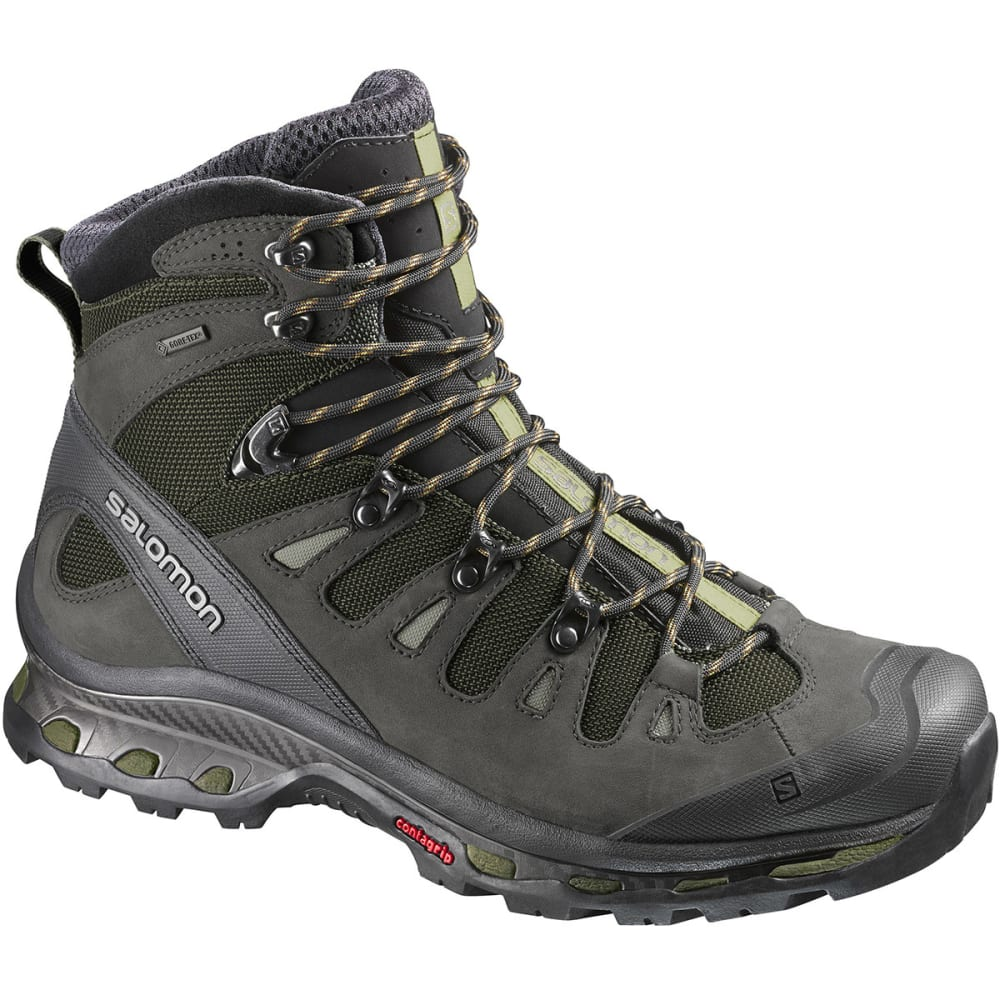 SALOMON Men's Quest 4D 2 GTX Backpacking Boots - IGUANA GREEN