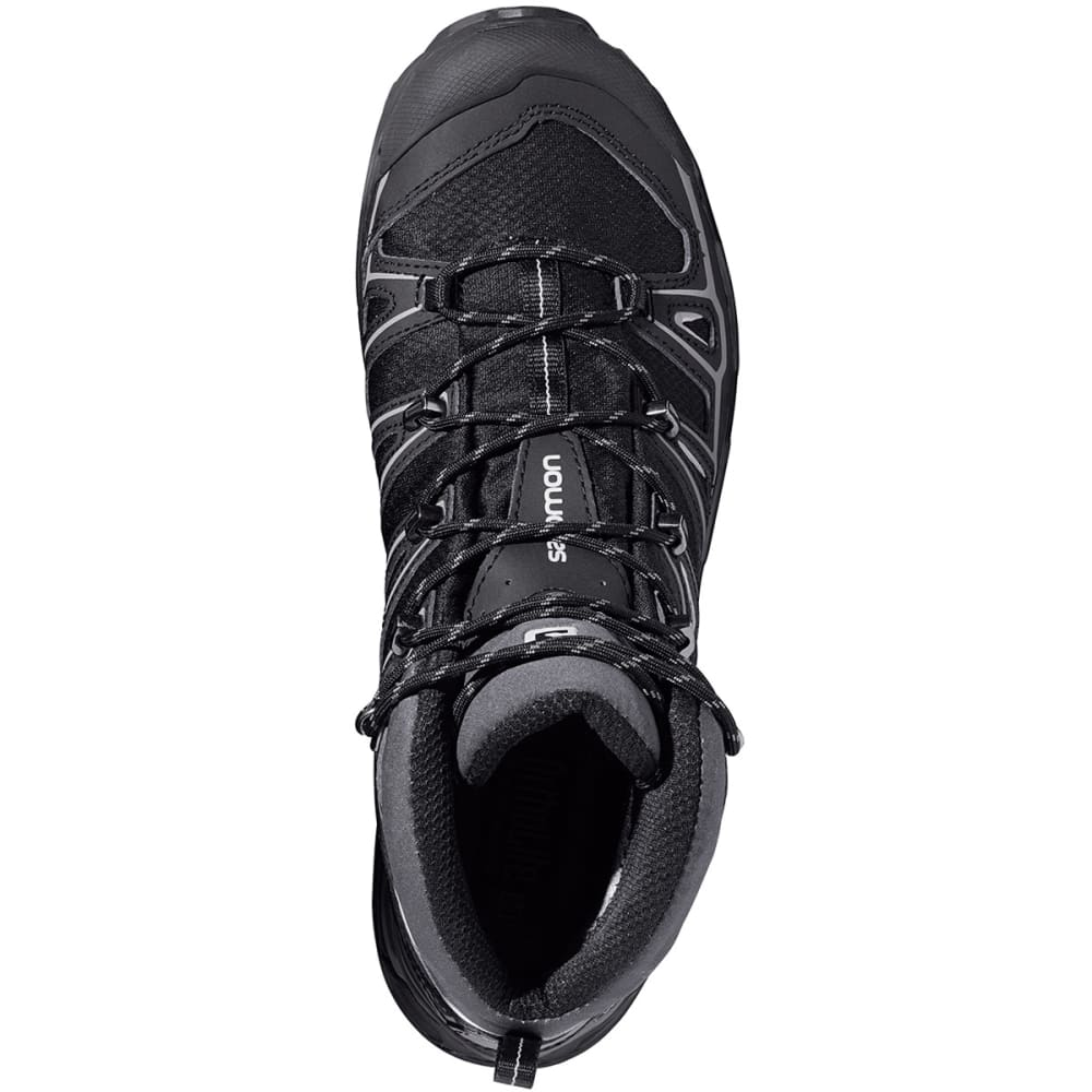 SALOMON Men's X Ultra Mid 2 GTX Hiking Boots - BLACK