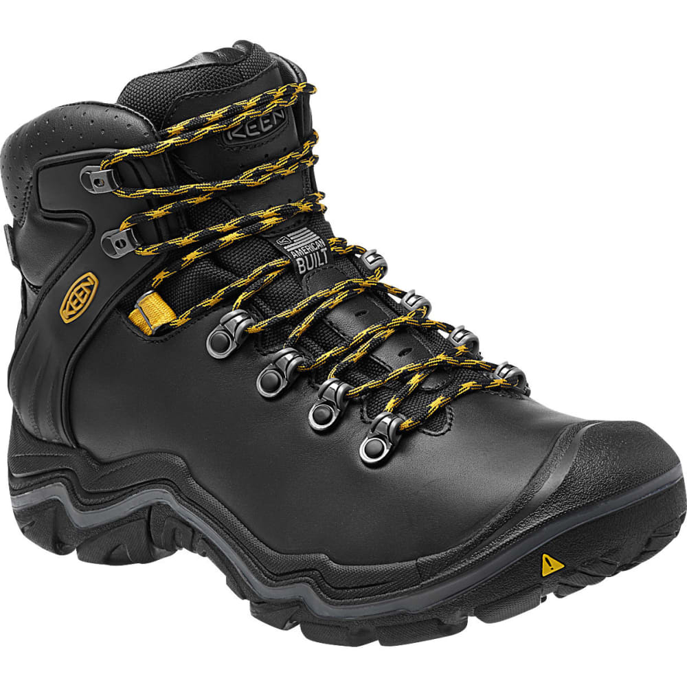 KEEN Men's Liberty Ridge Waterproof Hiking Boots - BLACK
