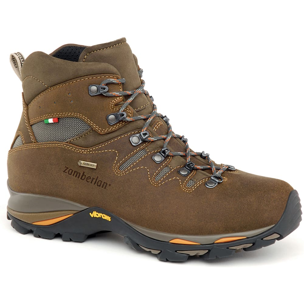 ZAMBERLAN Men's Gear GTX Backpacking Boots, Dark Brown - DARK BROWN