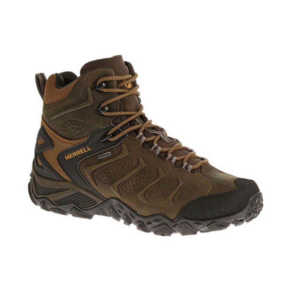 fdc6dd916b MERRELL Men's Chameleon Shift Mid Waterproof Hiking Boots, Bitter Root -