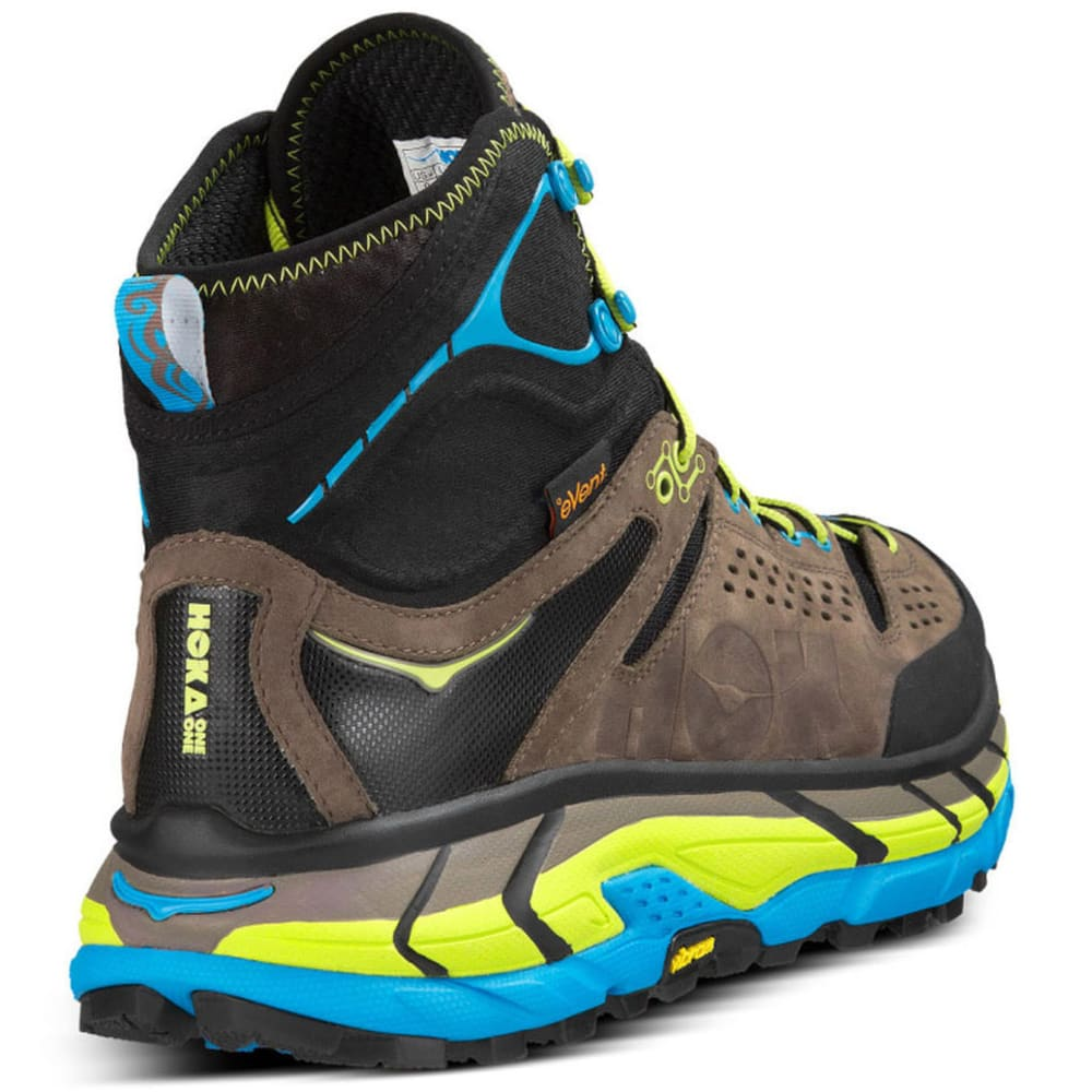 HOKA ONE ONE Men's Tor Ultra Hi Waterproof Mid Hiking Boots - GREY