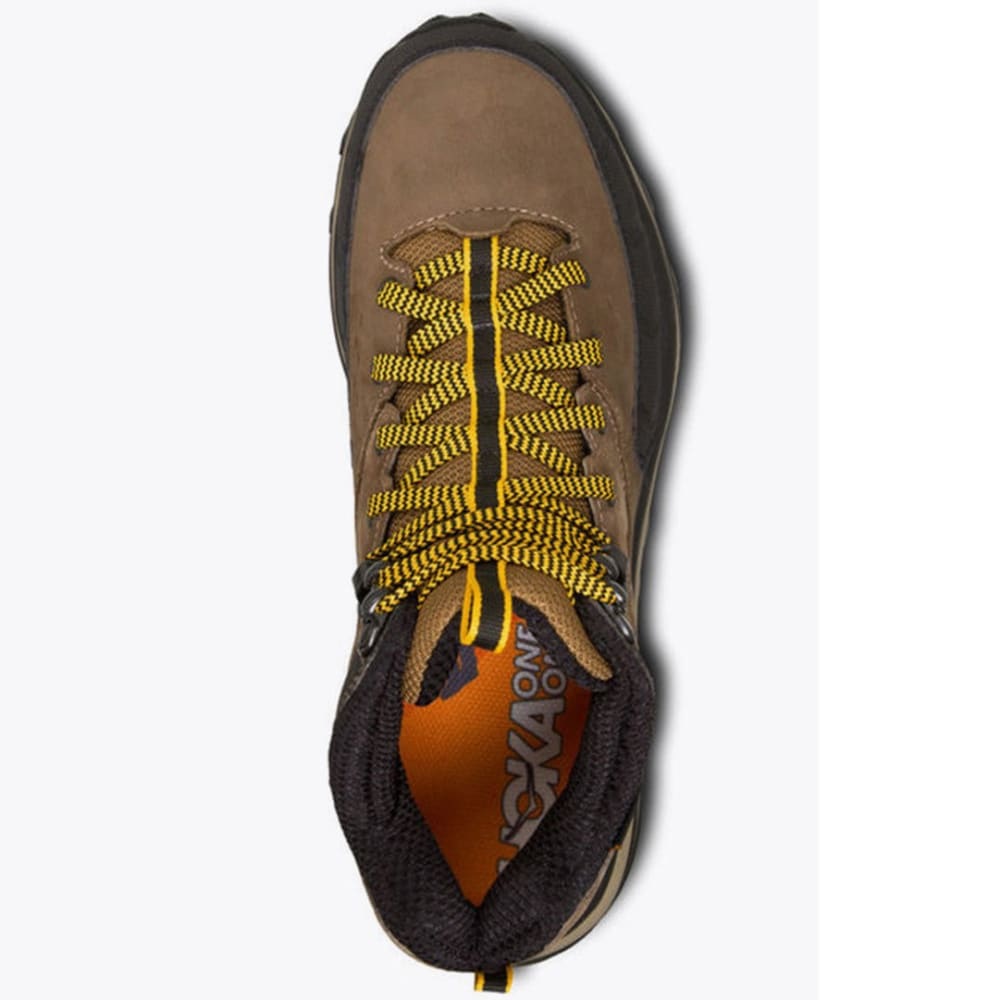 HOKA ONE ONE Men's Tor Summit Mid WP Hiking Boots - BROWN GOLD