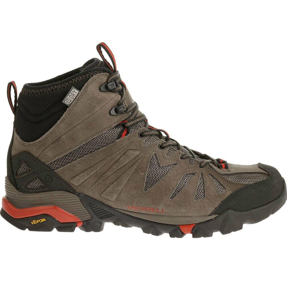 286350cffab MERRELL Men's Capra Mid Waterproof Hiking Boots, Boulder