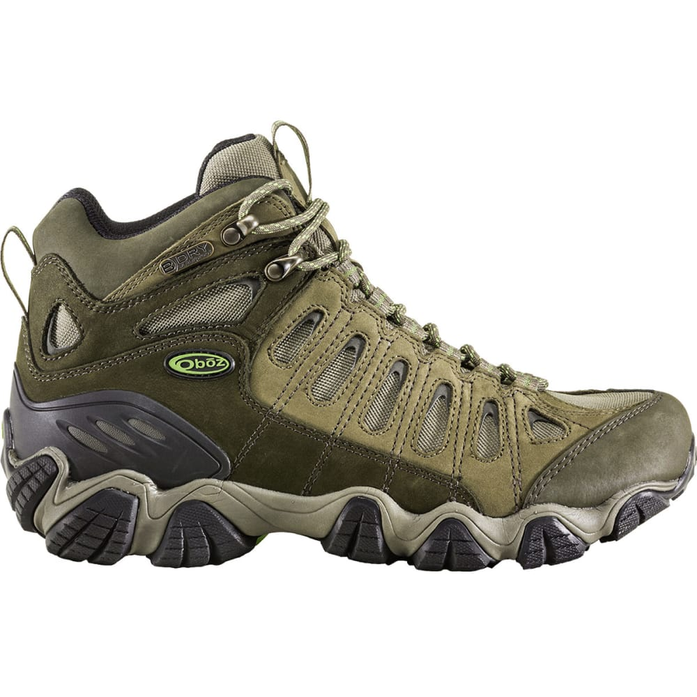 OBOZ Men's Sawtooth Mid BDry Hiking Boots - BROWN