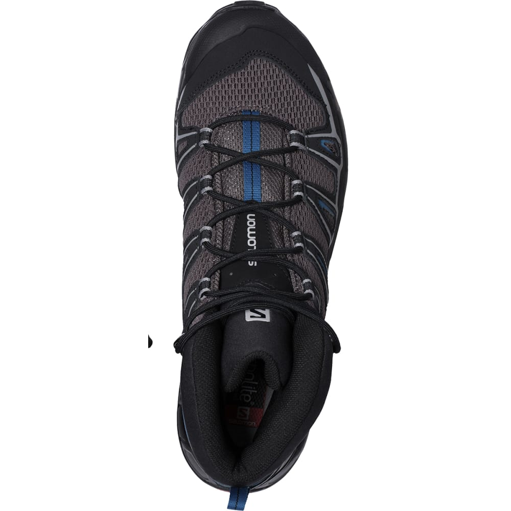SALOMON Men's X Ultra Mid Aero Hiking Boots - BLACK