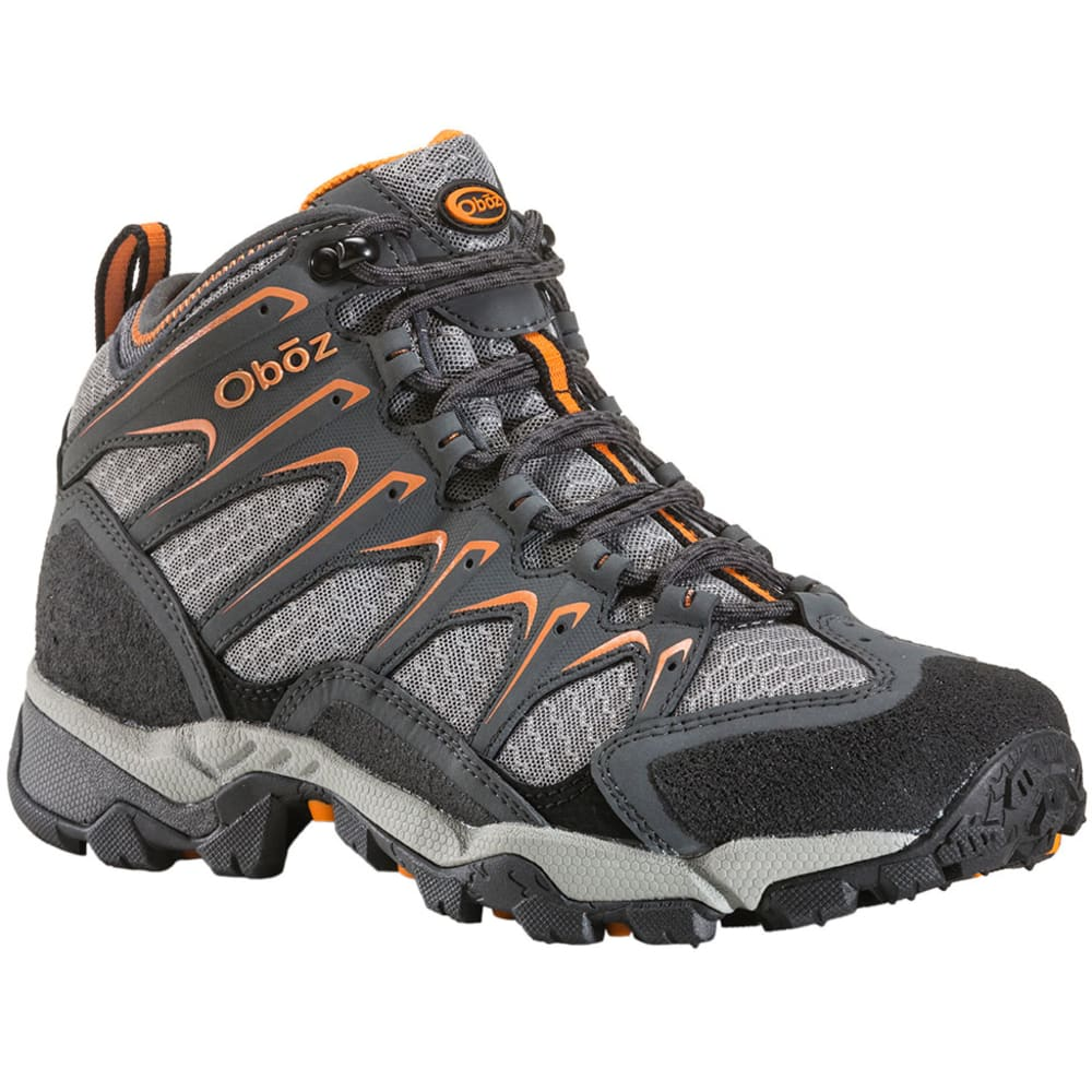 OBOZ Men's Scapegoat Mid Hiking Boots - CHARCOAL