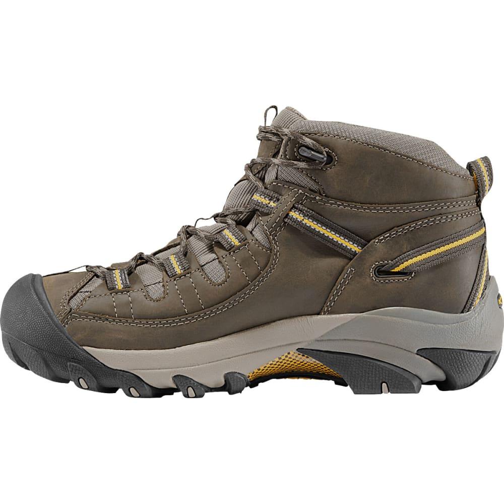 KEEN Men's Targhee II WP Hiking Boots, Black OliveYellow, Wide