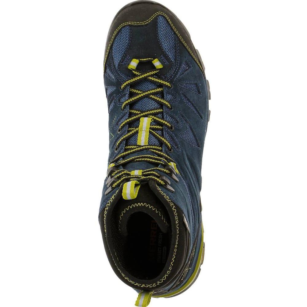 91508c7381e MERRELL Men's Capra Mid Waterproof Hiking Boots, Tahoe
