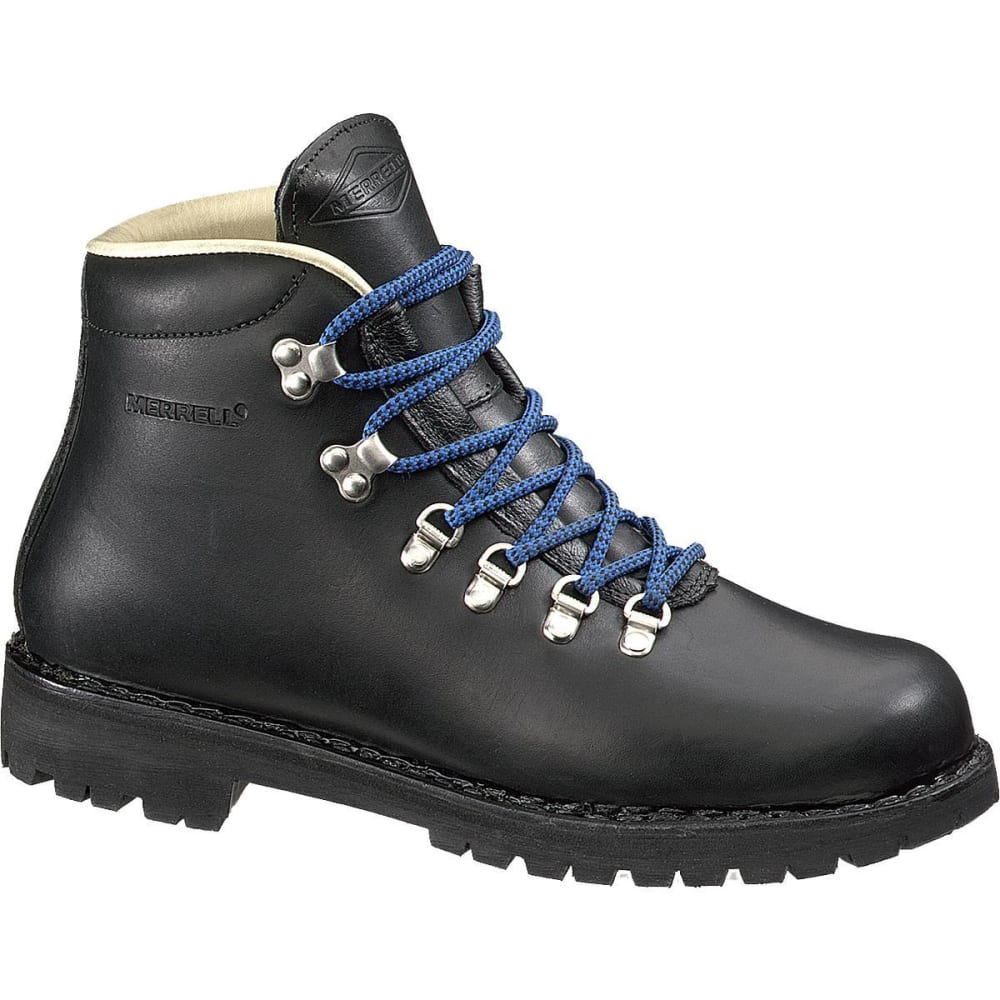 MERRELL Men's Wilderness Backpacking Boots - BLACK