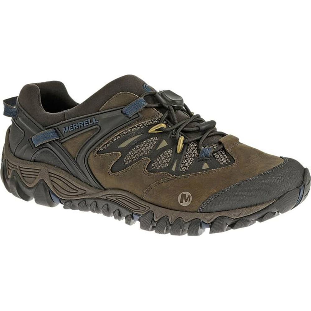 MERRELL Men's All Out Blaze Stretch Hiking Shoes, Falcon - FALCON