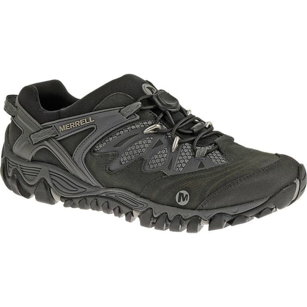 MERRELL Men's All Out Blaze Stretch Hiking Shoes, Black/Silver