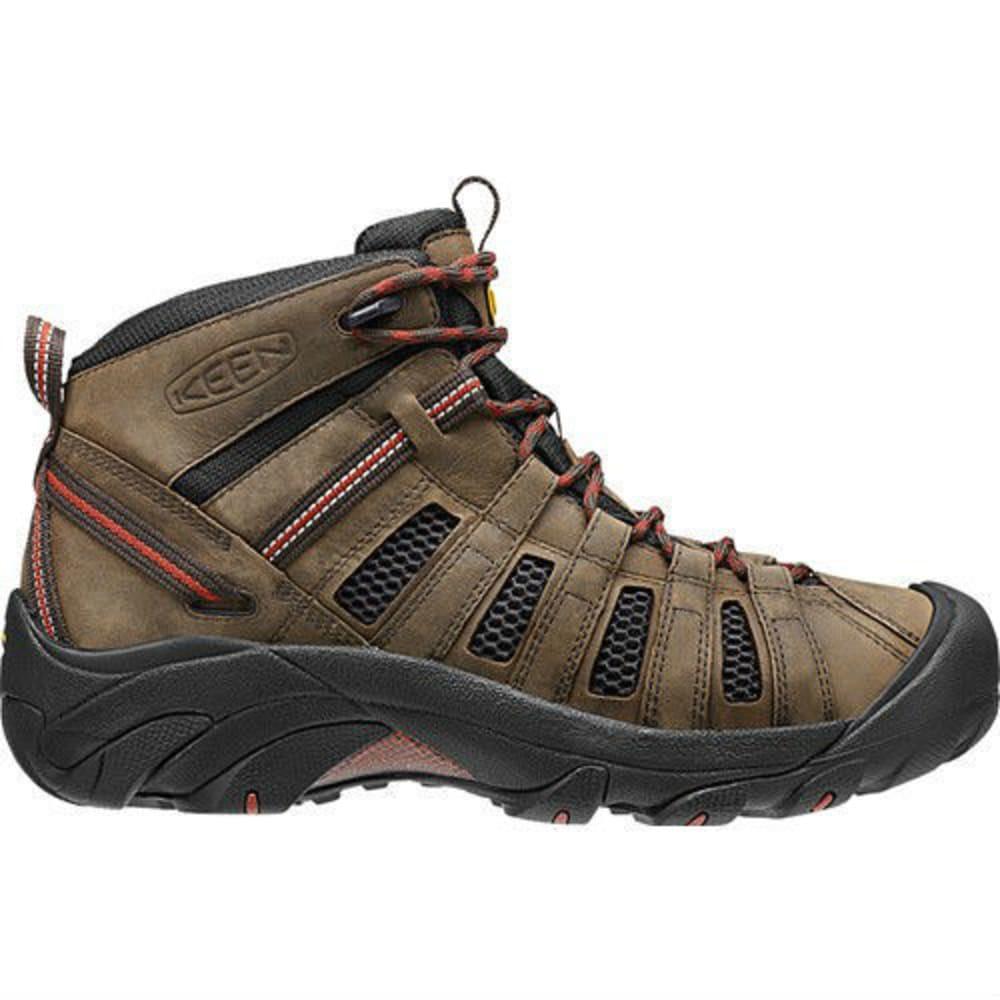 KEEN Men's Voyageur Mid Hiking Boots, Black Olive - NEW BLACK