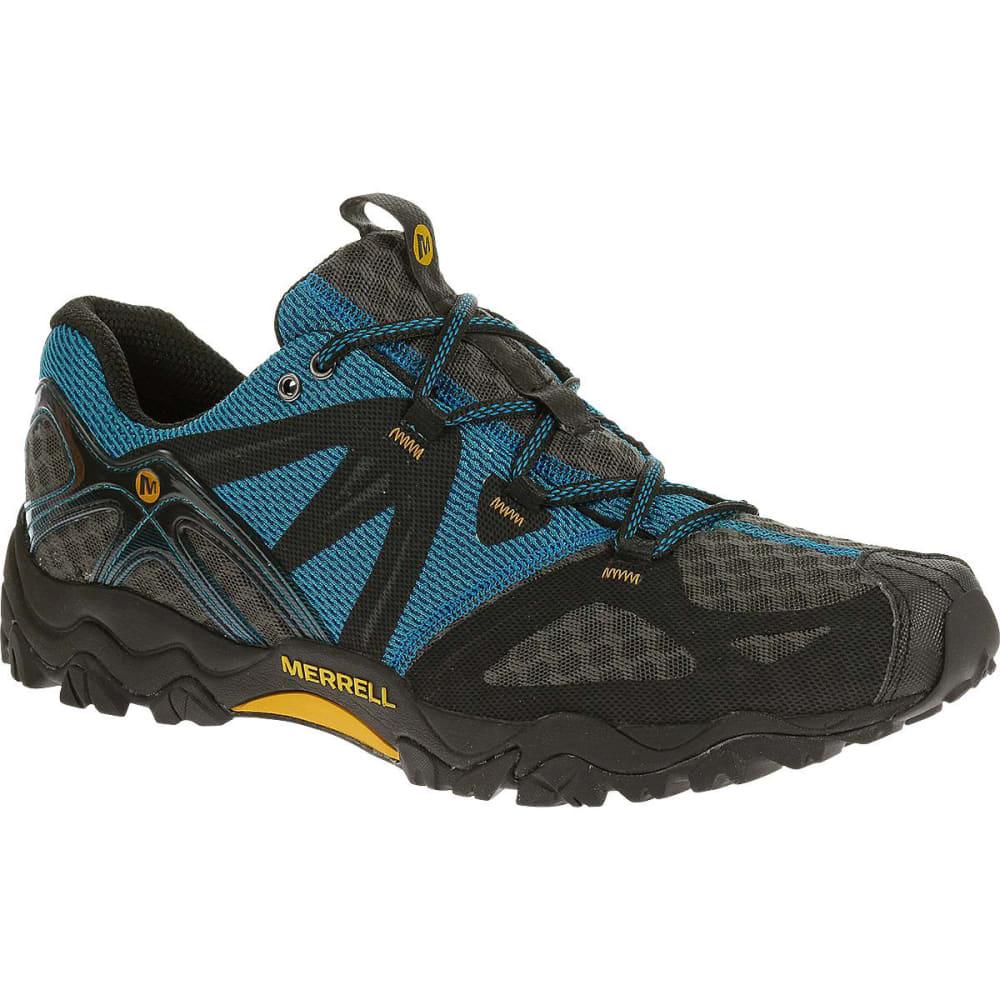 MERRELL Men's Grassbow Air Hiking Shoes, Racer Blue - RACER BLUE