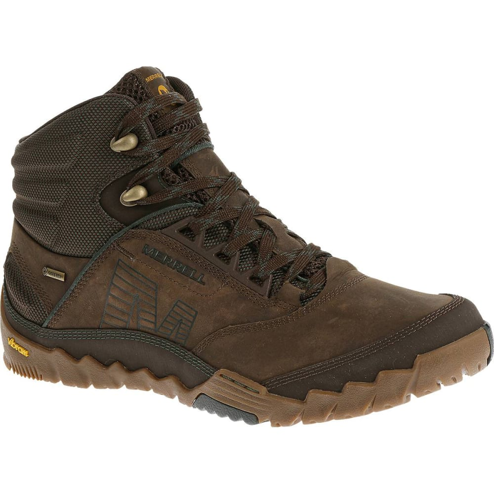 MERRELL Men's Annex Mid GORE-TEX Hiking Boots, Clay