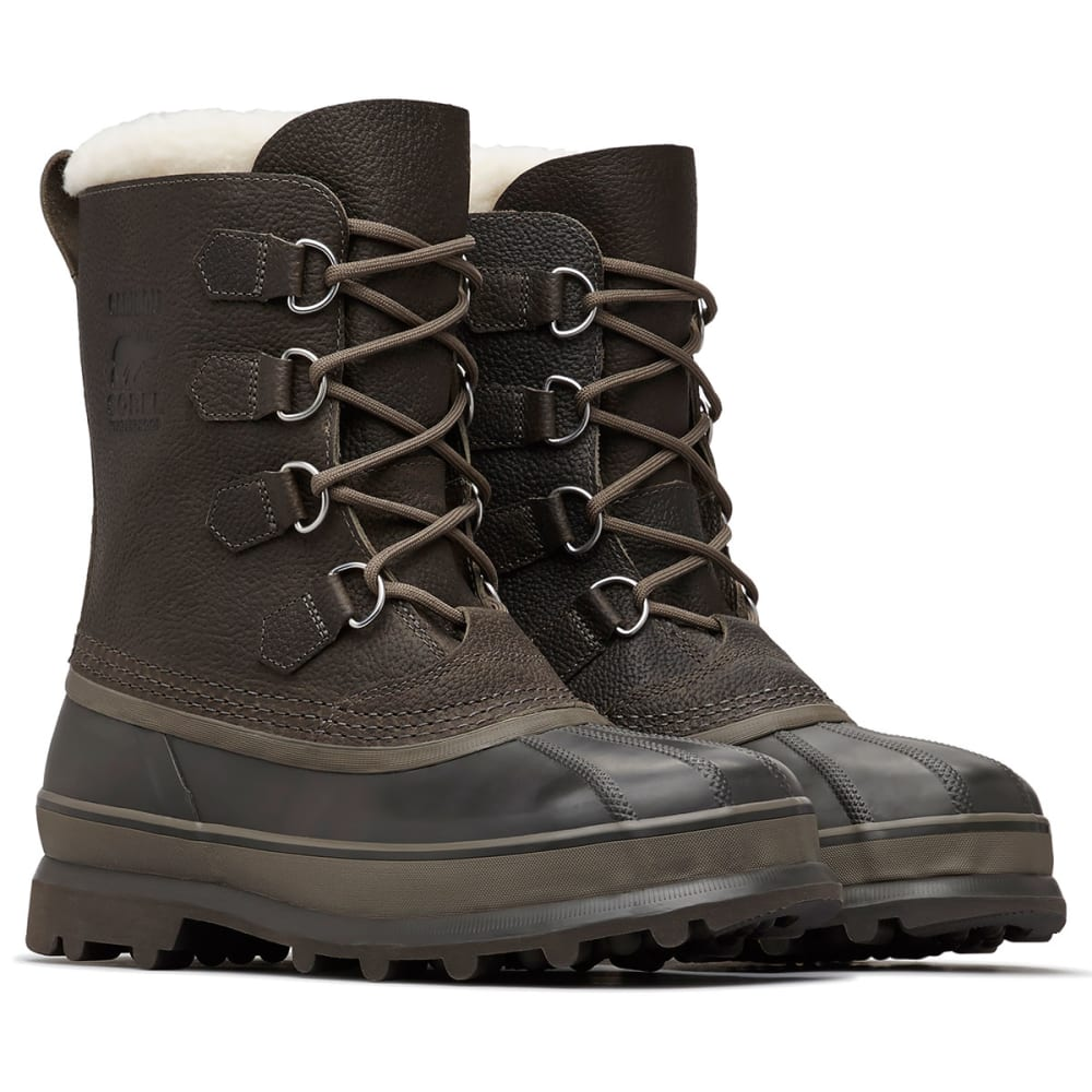 SOREL Men's Caribou Wool Winter Boots - QUARRY-052