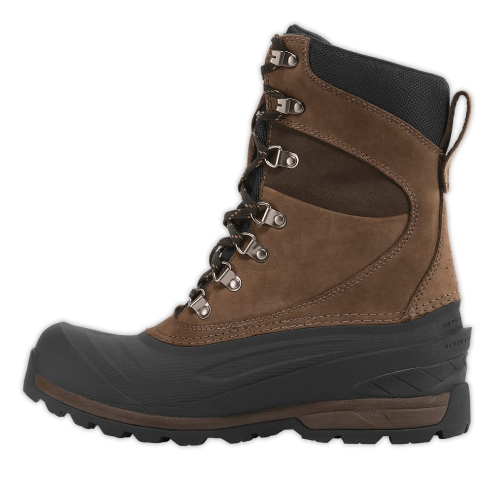 THE NORTH FACE Men's Chilkat 400 Winter Boots - BROWN