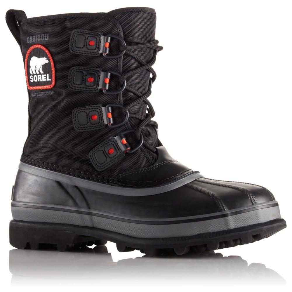 sorel s caribou xt winter boots black shale