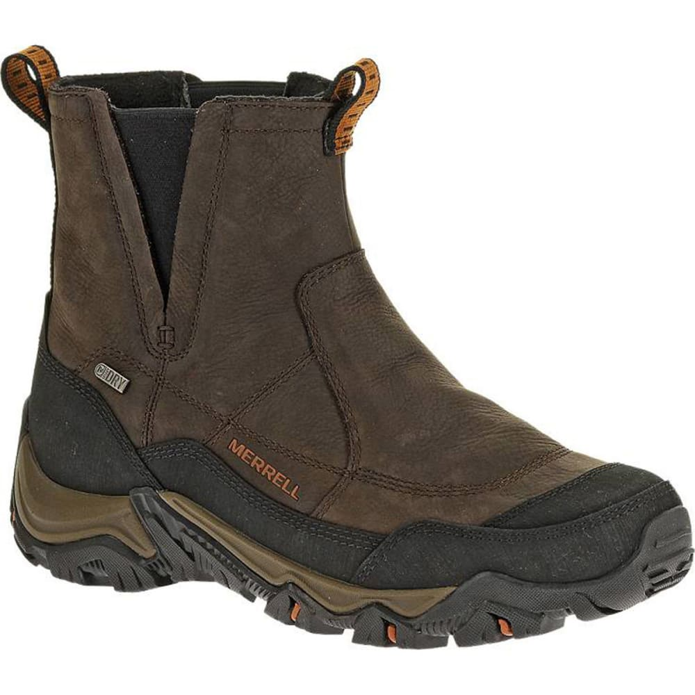 MERRELL Men's Polarand Rove Pull Waterproof Winter Boots