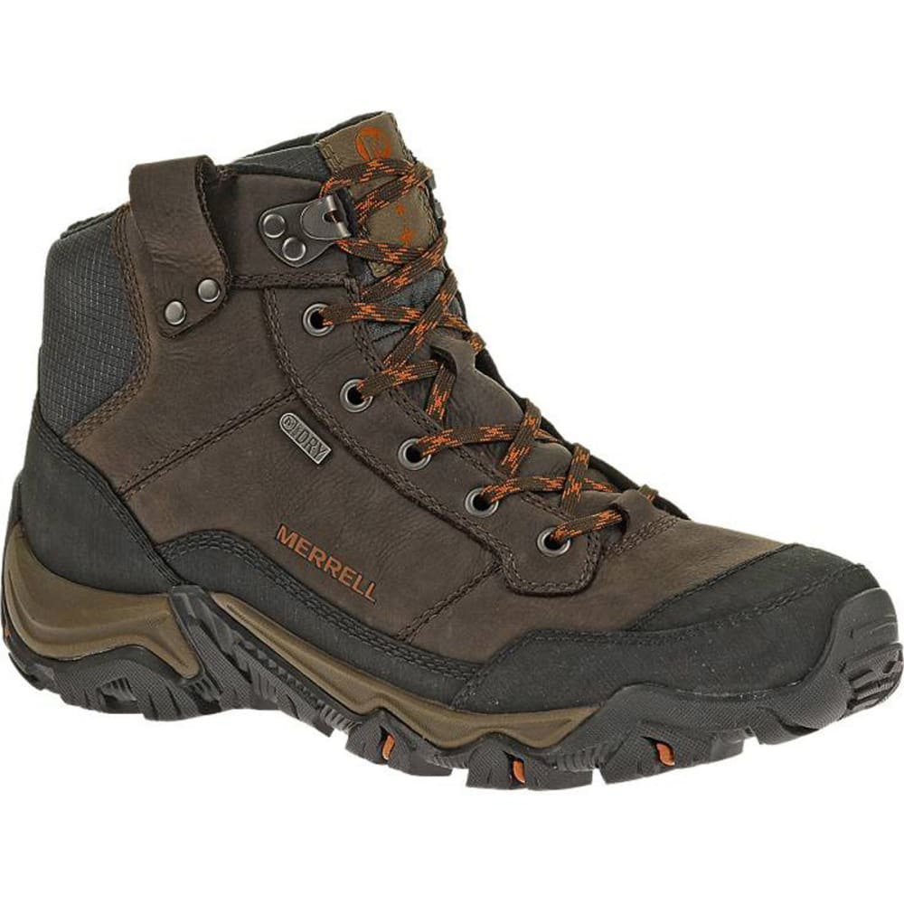 MERRELL Men's Polarand Rove Waterproof Winter Boots, Black Slate - BLACK SLATE